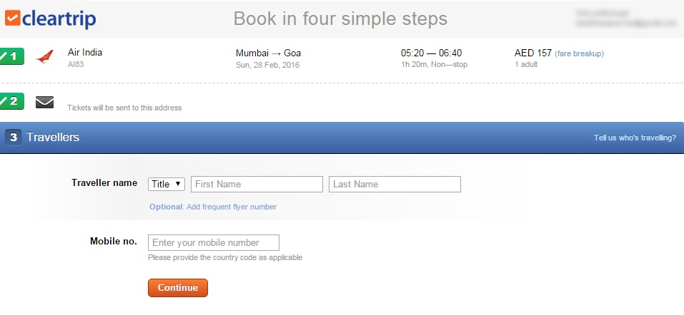 Cleartrip coupon code hdfc credit card