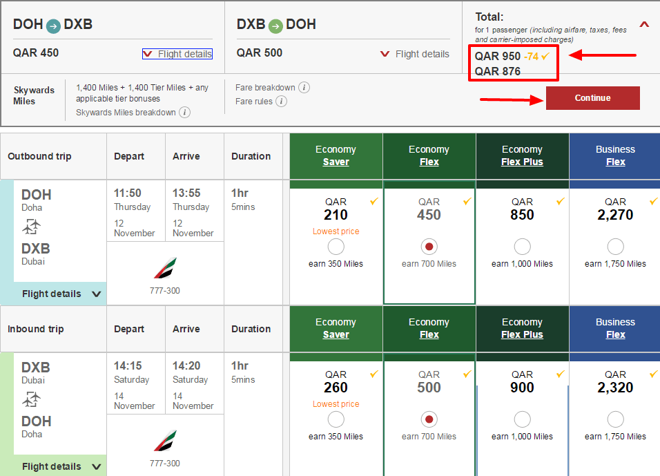 Discount coupons for emirates airlines