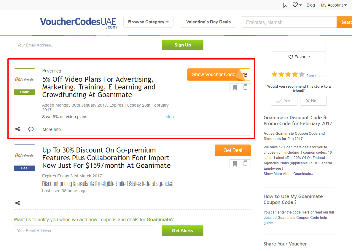 Goanimate coupon code
