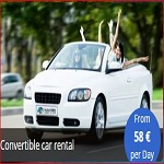 Convertible Car Rental From €58 Per Day