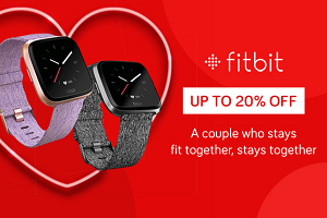 20% Off Selected Fitbit Watches and Trackers