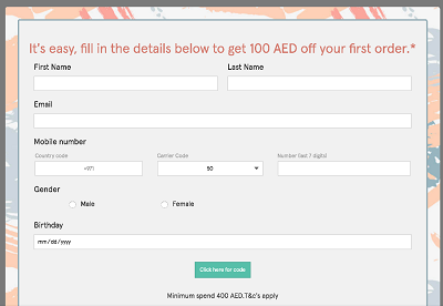 How to Avail Namshi Discount on First Purchase