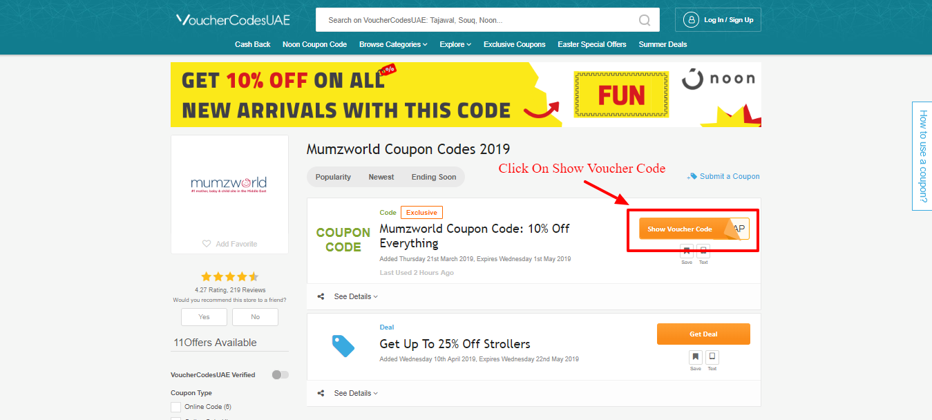 detailed look eb333 3c7f0 How To Get Mumzworld Coupon Code