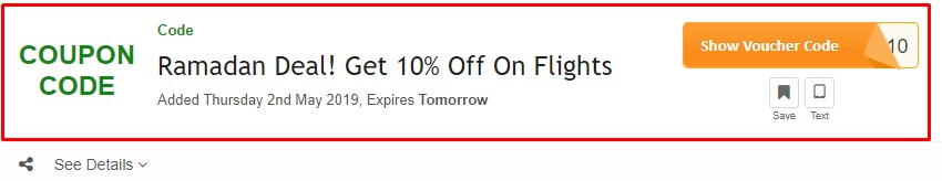 Get Cleartrip UAE Coupon Code