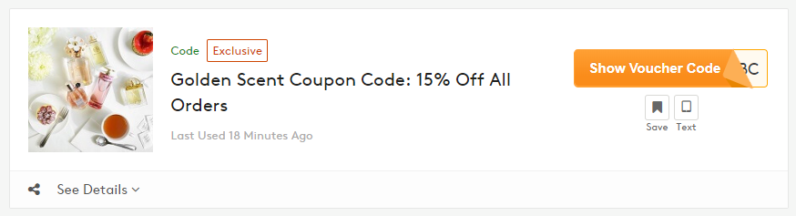 How to get Golden Scent Coupon Code